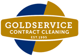 Goldservice contract cleaning logo
